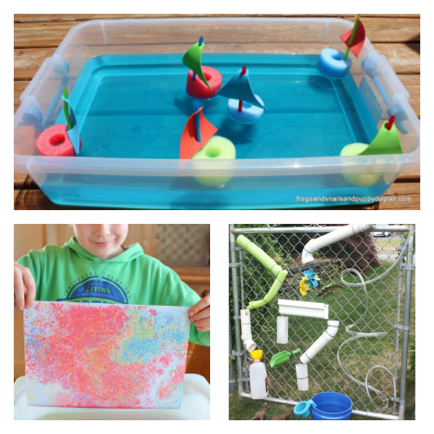 water activities for preschoolers
