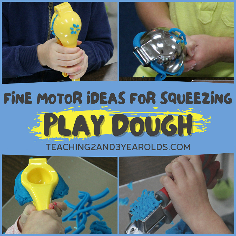 preschool playdough idea