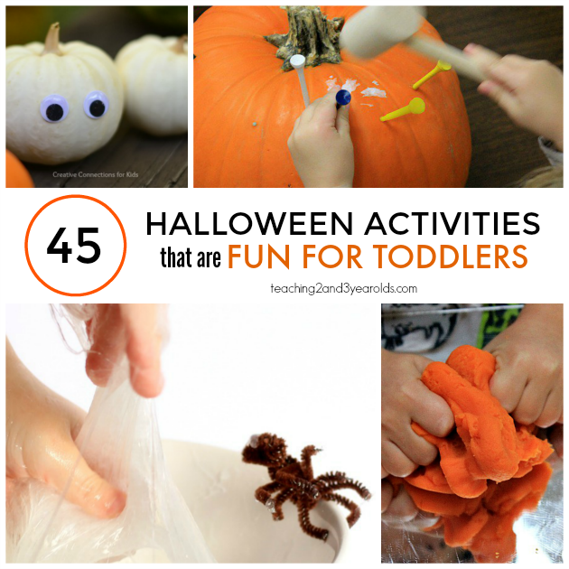 45 of the Best Toddler Halloween Activities