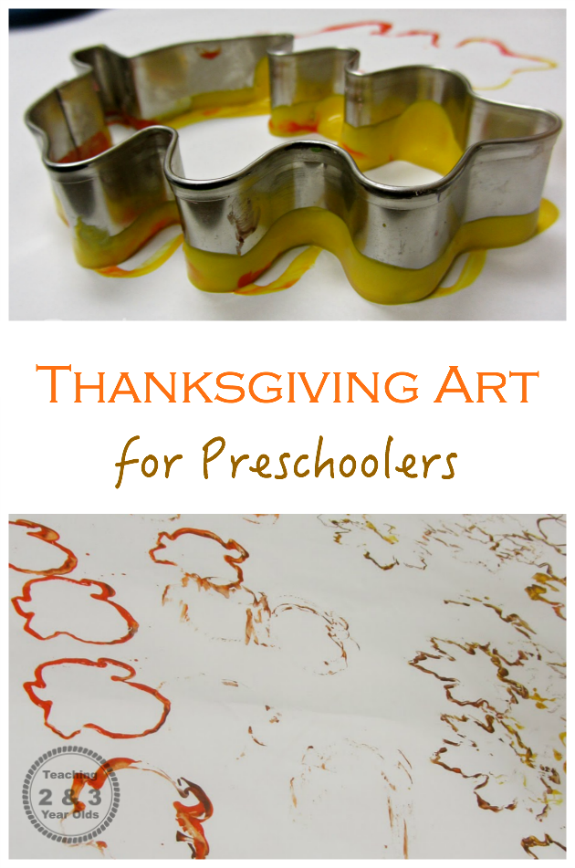 Thanksgiving art for preschoolers