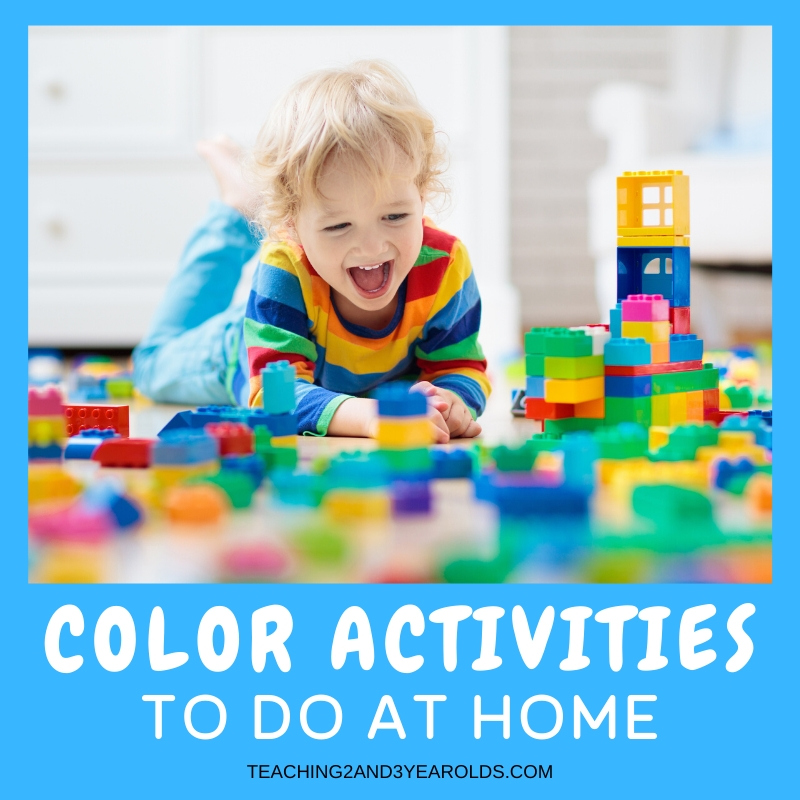 Easy Color Learning Activities for Home