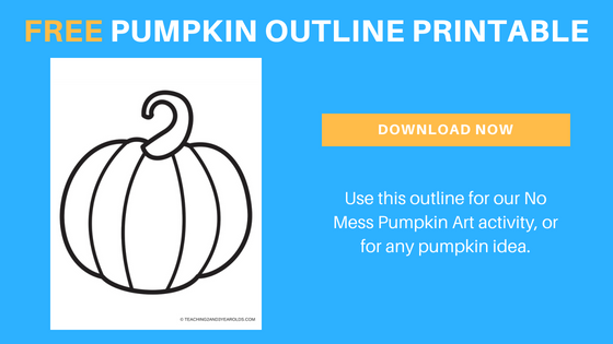 free preschool pumpkin printable