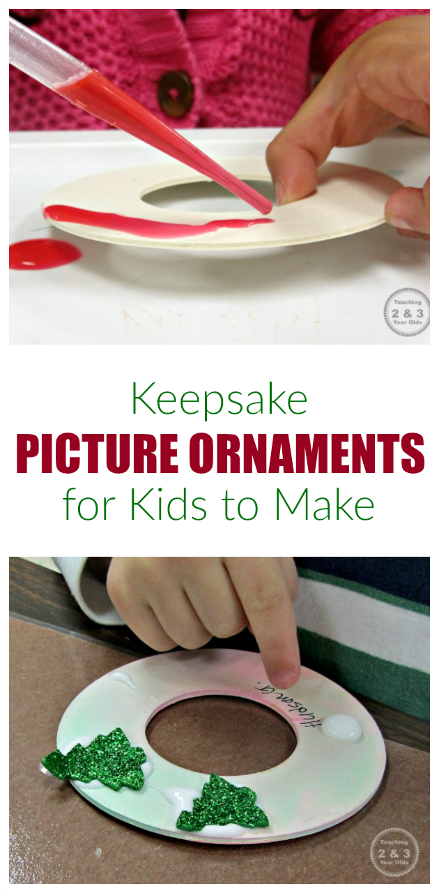 Picture Ornaments for Kids to Make