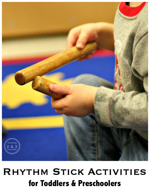 Rhythm Stick Activities for Toddlers and Preschoolers