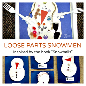 Creative Snowman Art for Preschoolers