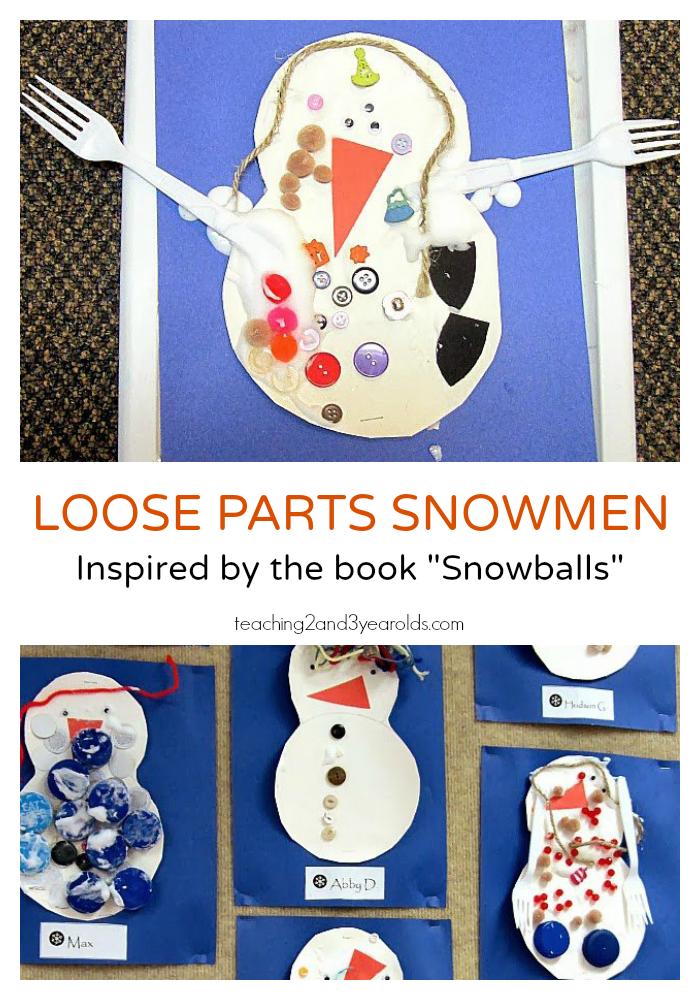 Creative Snowman Art for Preschoolers