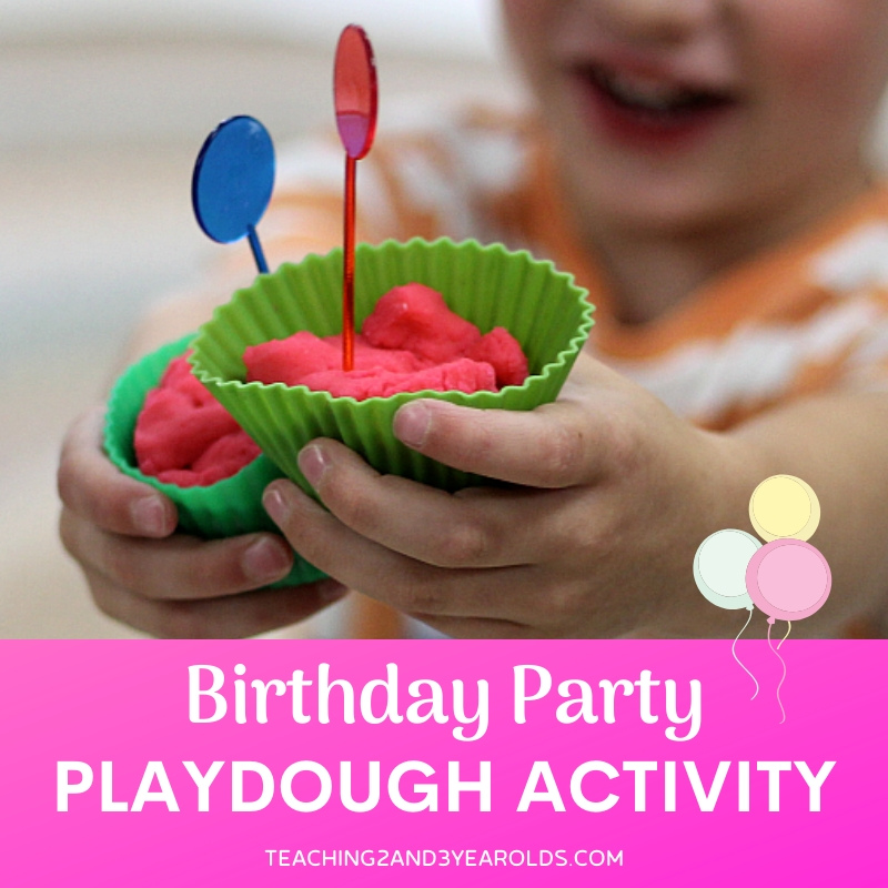 How to Put Together a Fun Playdough Activity to Celebrate Birthdays