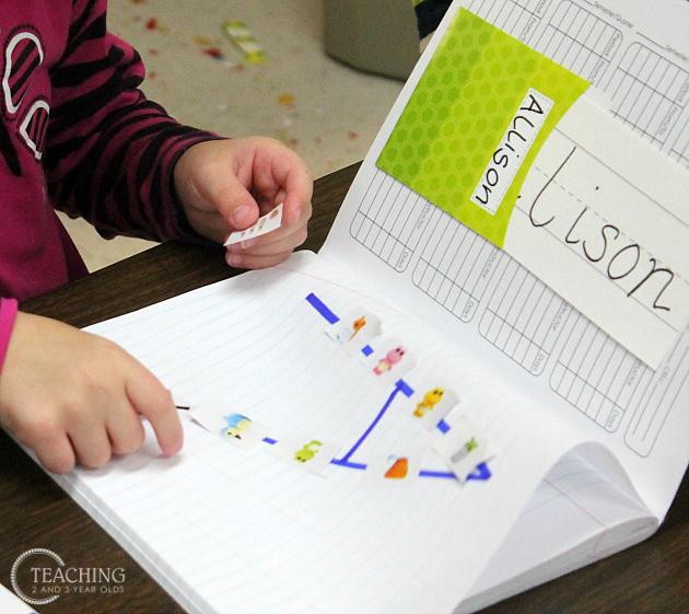 journals with preschoolers
