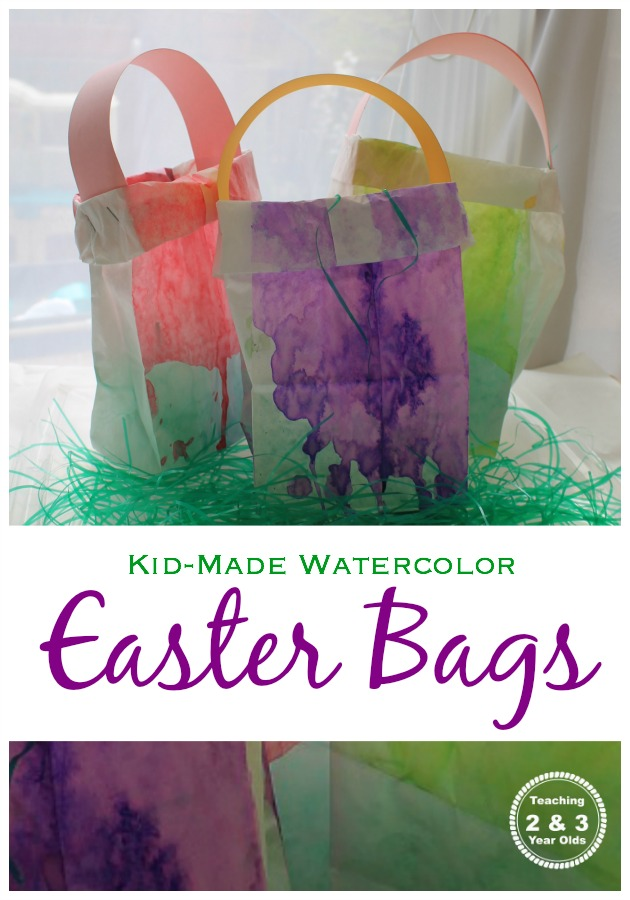Easy Easter Bags for Kids