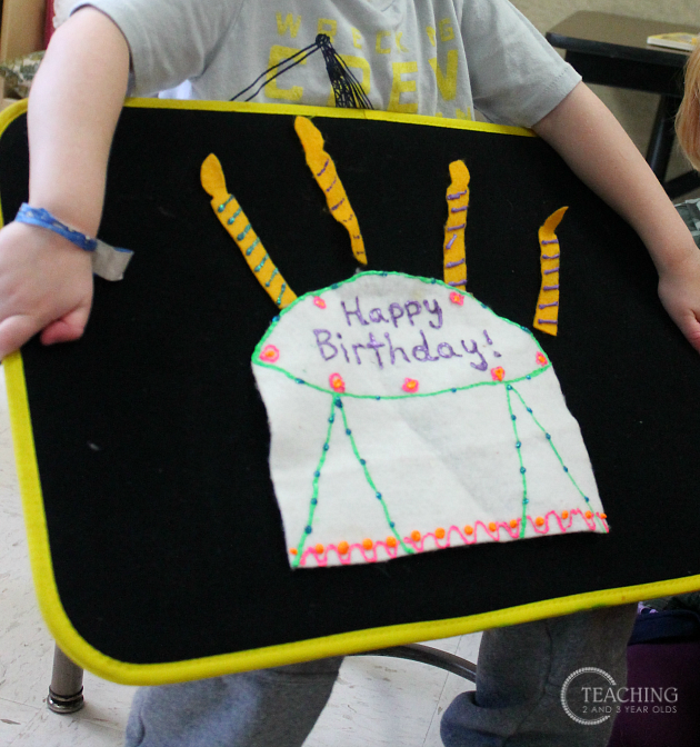 celebrating birthdays in the classroom