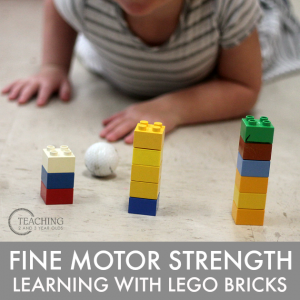Building Fine Motor Skills with Lego Bricks