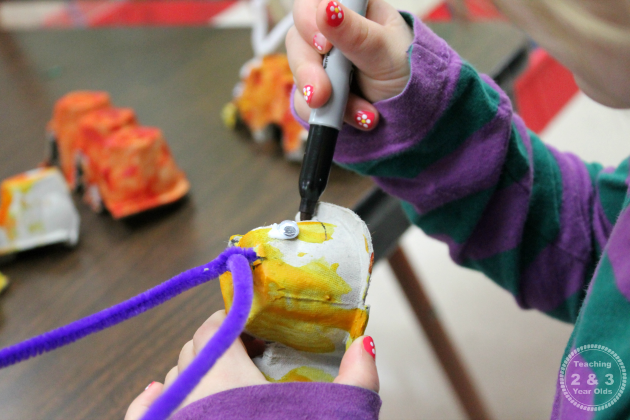 Caterpillar Preschool Craft
