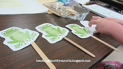 Five Little Speckled Frogs Finger Play