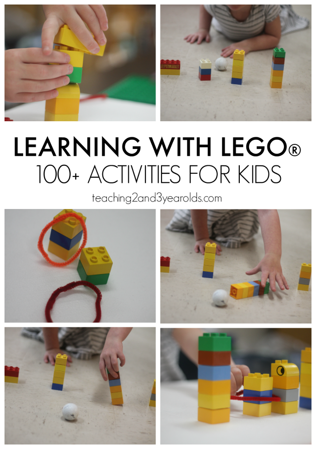 learning with lego - 100+ activities for kids