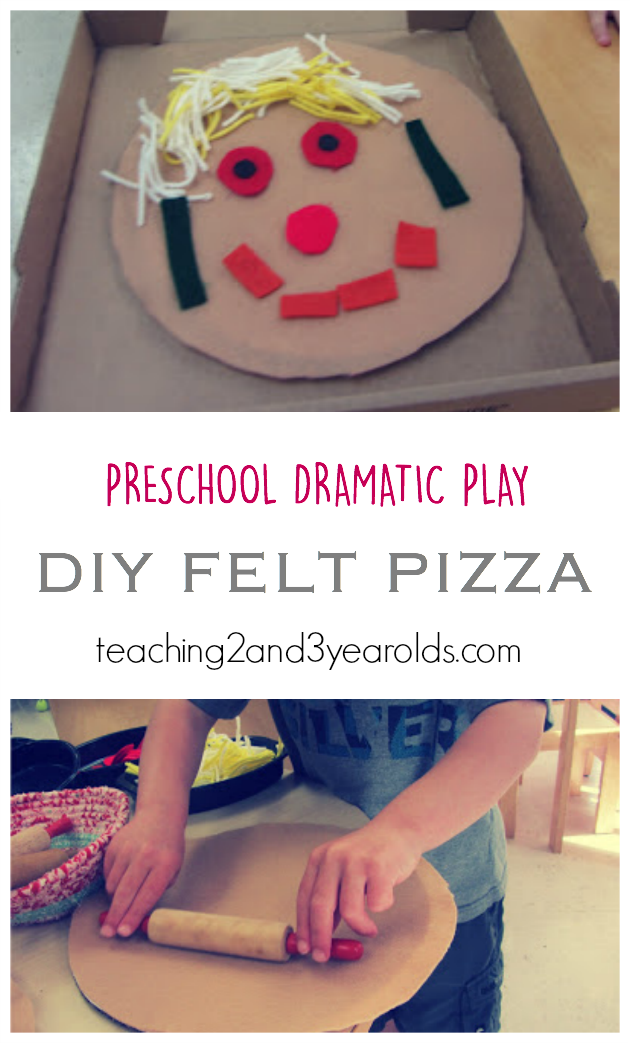 Dramatic Play Pizzeria Teaching 2 And 3 Year Olds