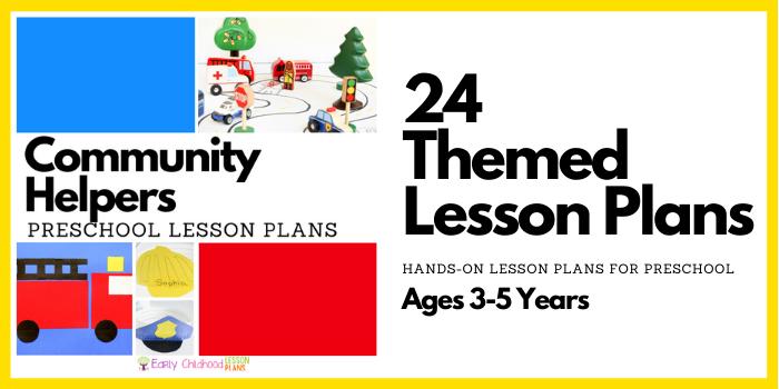 preschool lesson plans community helpers