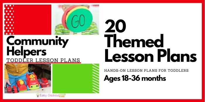 toddler lesson plans community helpers