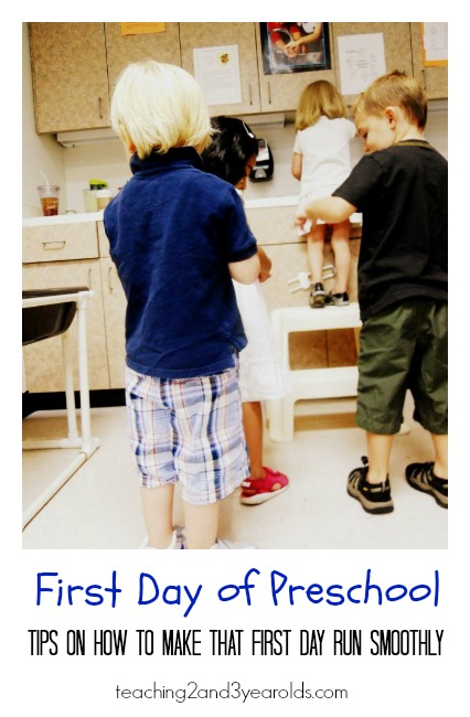 Back to School - First Day in Preschool
