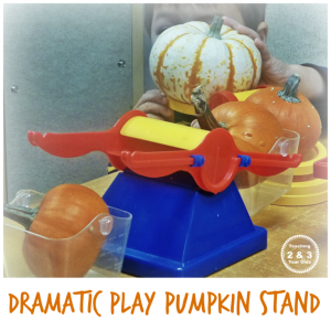 dramatic play pumpkin stand