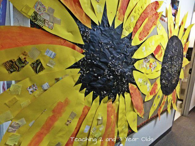 blog sunflower art