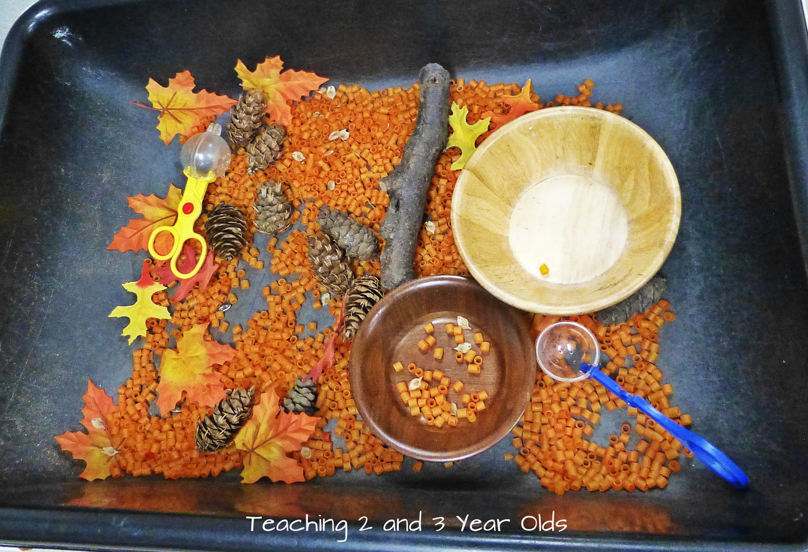 a collection of sensory table ideas
