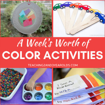 color recognition activities