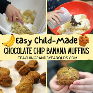 easy chocolate chip banana muffins for kids