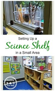 Preschool Science in a Small Space