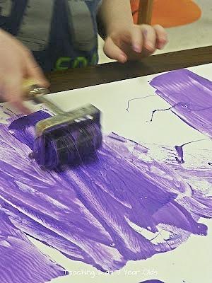 canvas kids art