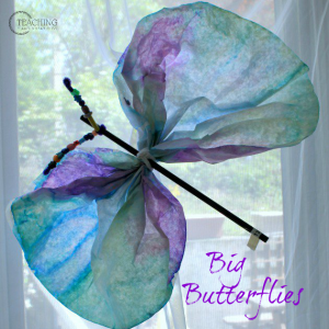 fun butterfly craft for preschoolers