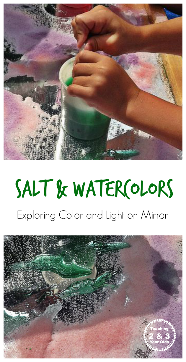 How to Mix Colors on a Mirror