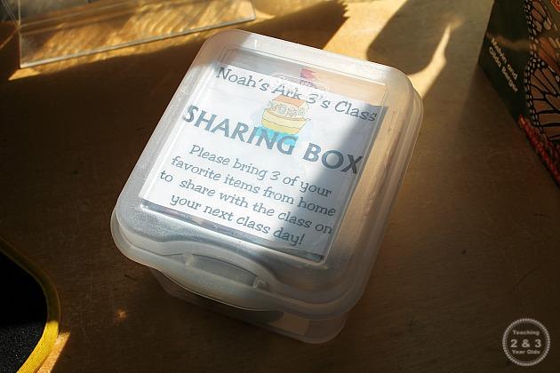 sharing time in preschool
