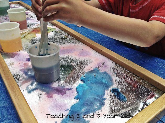 Color Activity for Preschool Outdoors