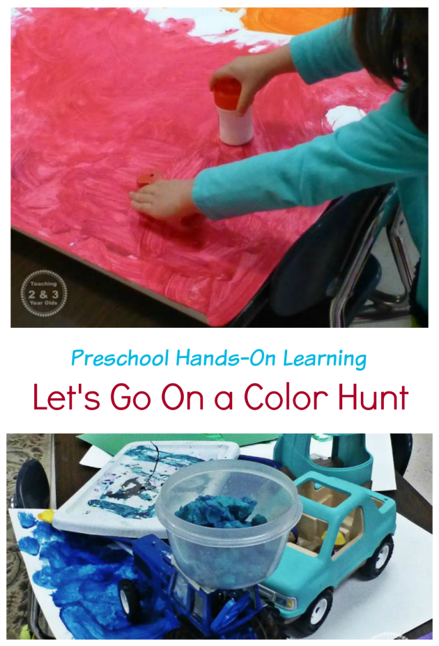Preschool Color Sorting Activity