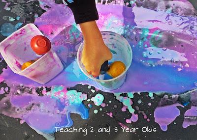 preschool paint activities