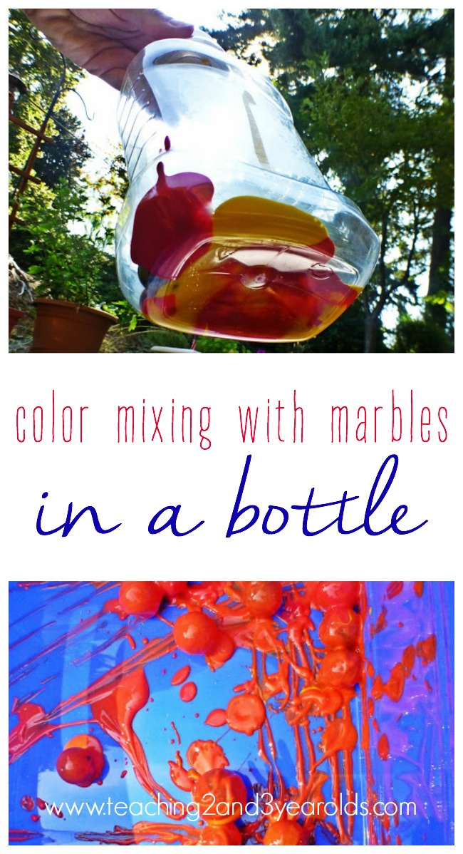 Color Mixing in a Bottle