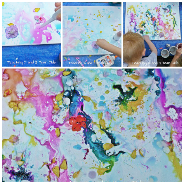 kids canvas painting
