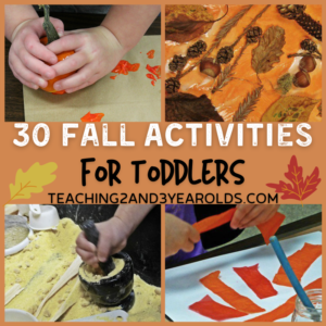 30 Fall Activities that are Fun for Preschoolers