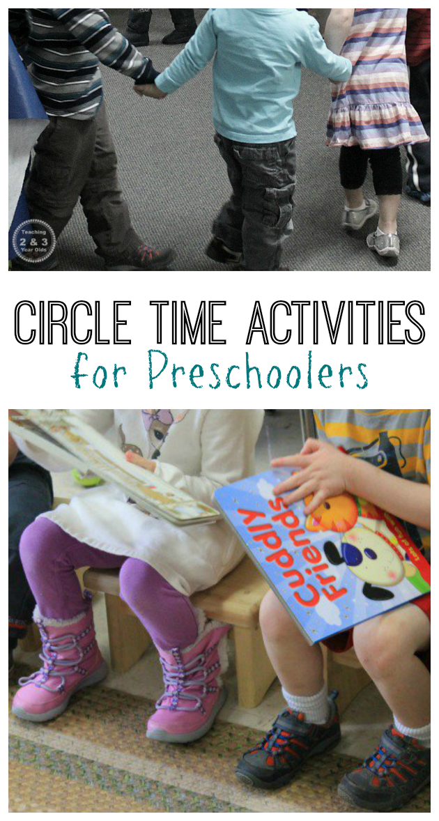 Circle Time for Preschoolers - Weather, Sharing, Music, Books - Teaching 2 and 3 Year Olds