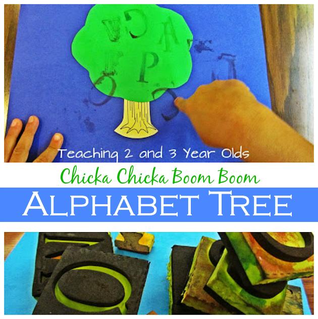 Preschool Chicka Chicka Boom Boom Activity