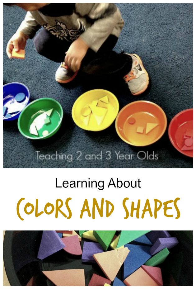 learning colors and shapes activity - Color Games For 2 Year Olds