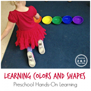 Learning Colors and Shapes Activity