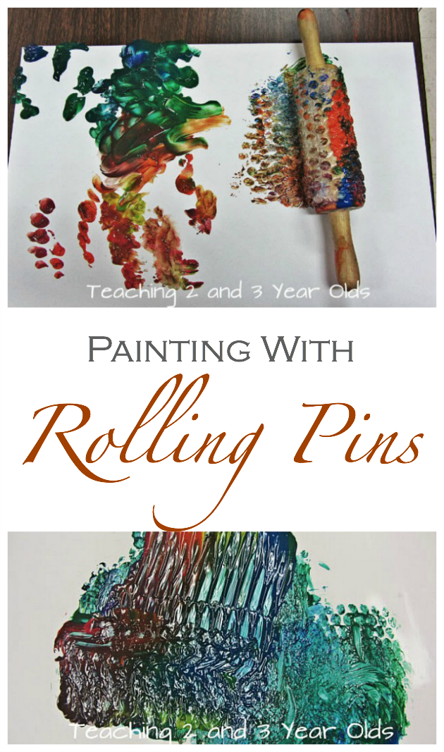 Painting with Rolling Pins
