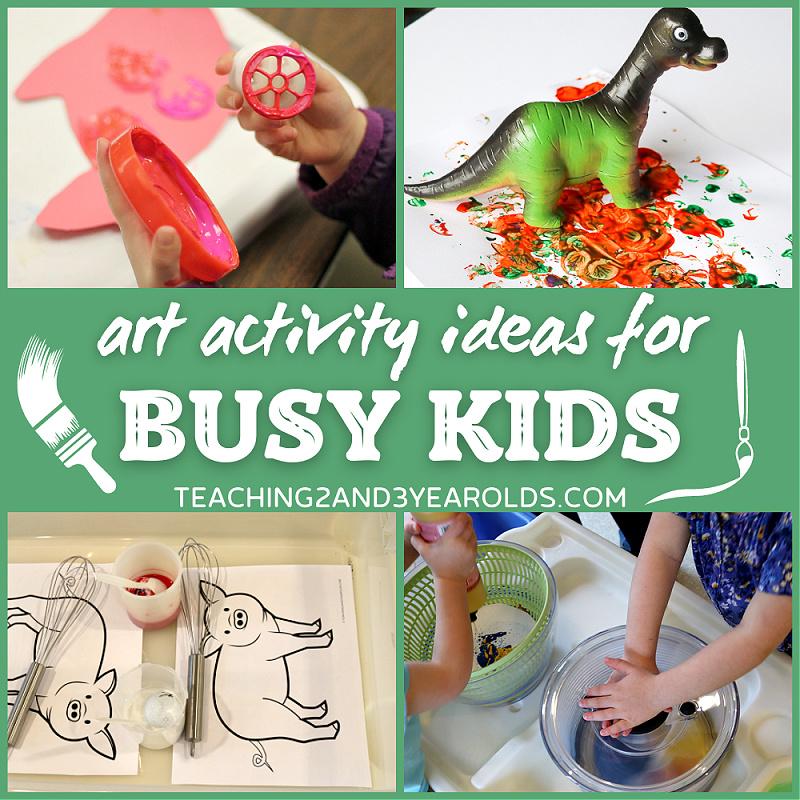 Super Fun Art Ideas for Busy Kids
