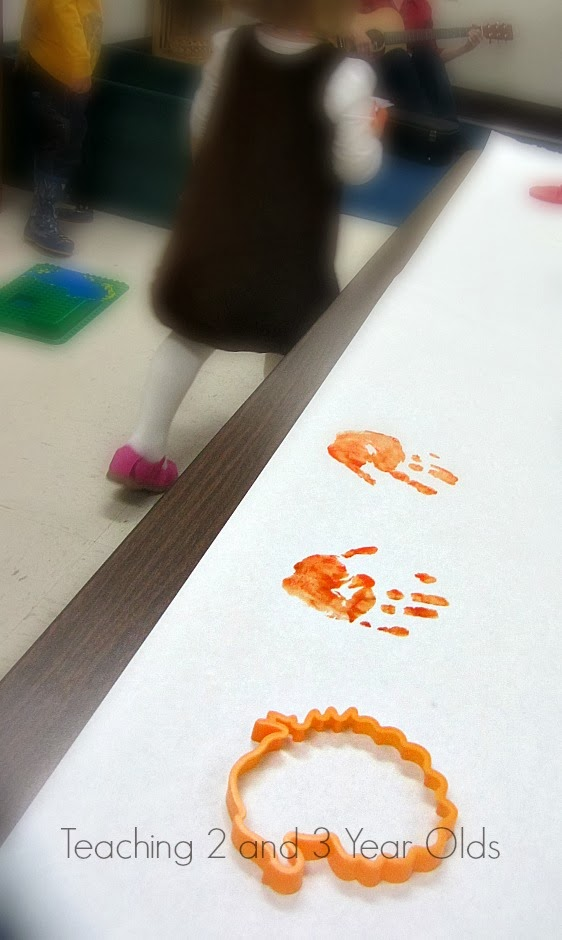 Fall Preschool Painting