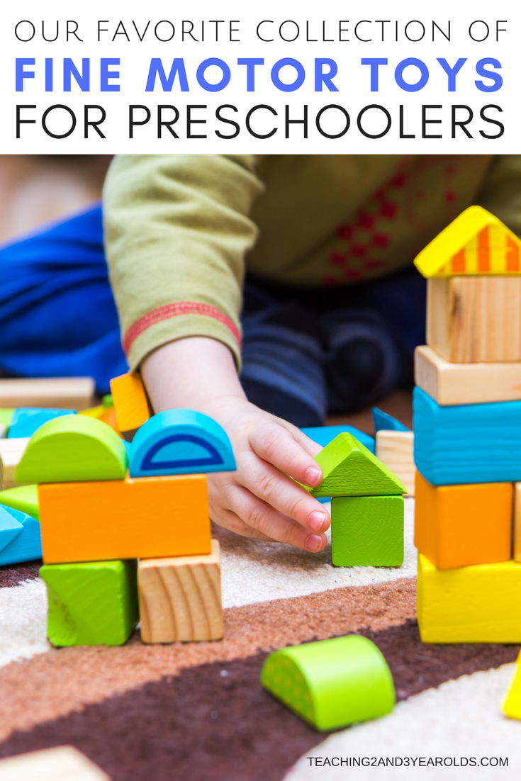 Favorite Fine Motor Toys for Preschoolers that are Fun!