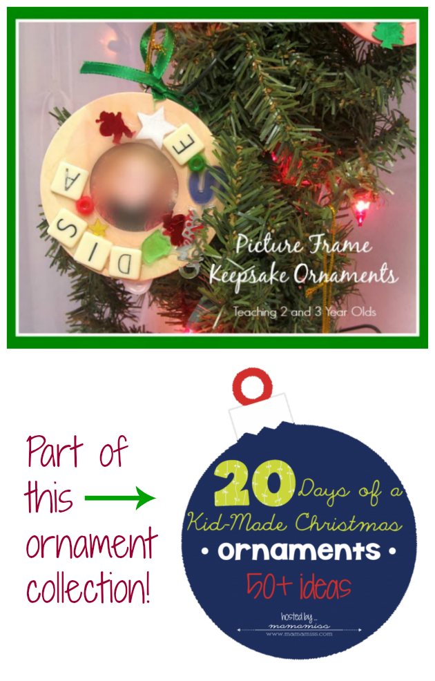 50 Plus Ornaments Made by Kids