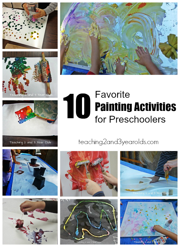 10 favorite painting activities