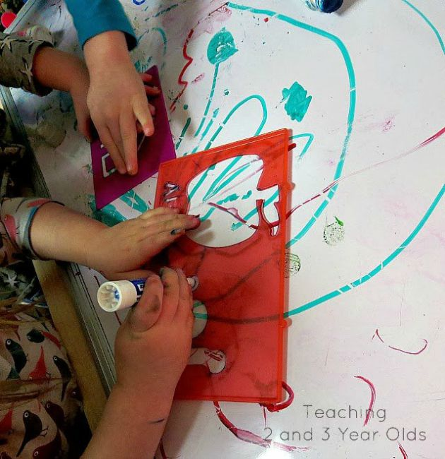 Developing Pre-Writing Skills on a Dry Erase Board 7