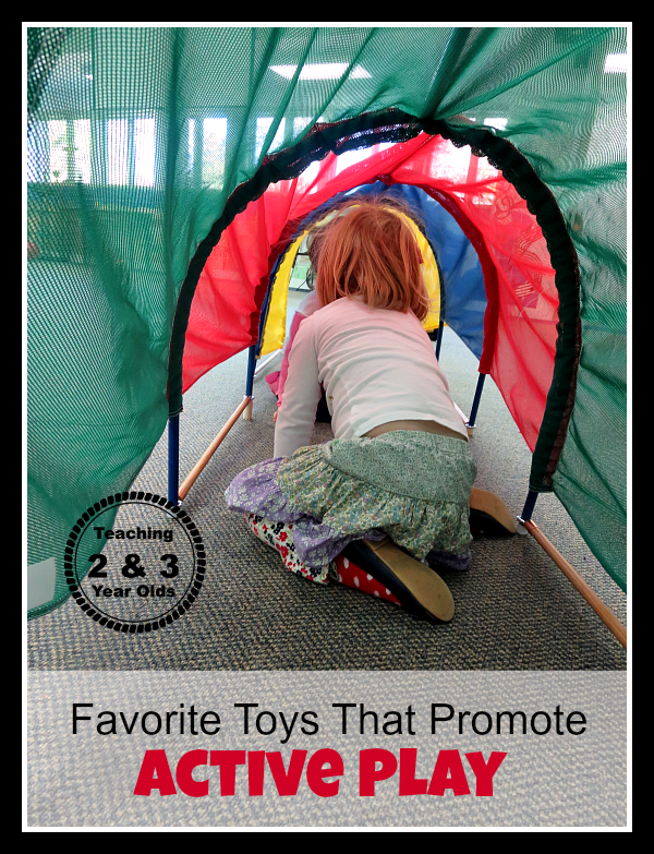 Preschool Large Motor Play